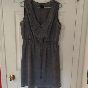 Black and White True Envy sleeveless dress